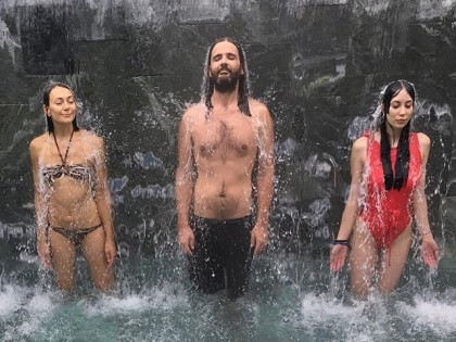 #ascension #trinity #trinidad #privatepool #waterfall #pfw #parisfashionweek #peternon #peternonshoes @silvia_lo_giudice @anitafatimaviero @peter_non #termedipresaintdidier #qcterme #family #love #paris #summer #boom